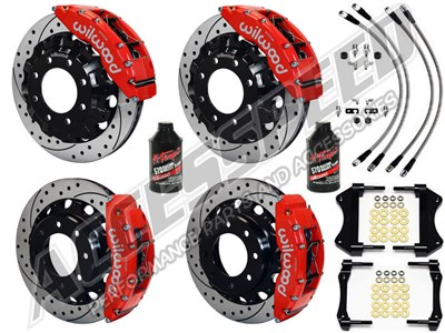Big Brake Discount Package - Combo Front & Rear