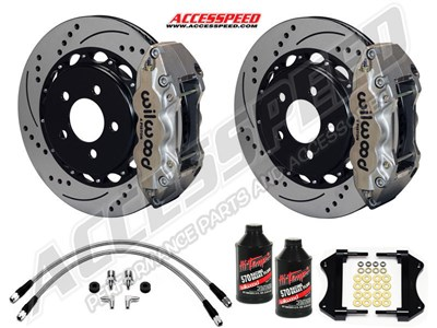 Big Brake Discount Package - Rear W/Lines & Fluid