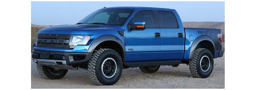 F-150 Raptor Fabtech Lift - Jim Lupold Collection