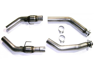 Bassani 5407R3 Stainless Cat Adaptors - GT500