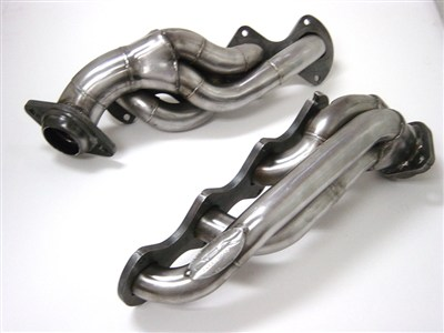 "Gibson GP130S Stainless 1-3/4"" Headers - With EGR & Air Injection GM 8.1 headers"