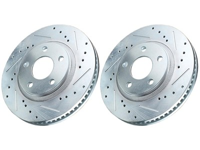 Power Stop AR8234XPR Front Drilled & Slotted Rotors