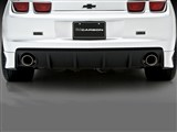 3D Carbon 691803 GT Rear Lower Spats 2010 2011 2012 2013 Chevrolet Camaro - Left Side /