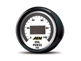 AEM 30-4401 Oil Pressure Display Gauge / AEM 30-4401