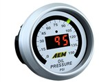 AEM 30-4407 Digital Oil Pressure Gauge (0-150psi) 4-In-1 /