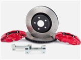 Alcon BKR5059D12 Rear 13-in Big Brake Kit With 4-Piston Red Calipers For 2007-up Wrangler JK/JL/JT / Alcon BKR5059D12 Rear 13-in Big Brake Kit