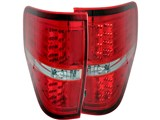 Anzo USA 311139 Red LED Taillights 2009-2014 Ford F-150 & F-150 SVT Raptor /