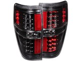 Anzo USA 311145 Black LED Taillights 2009-2014 Ford F-150 & F-150 SVT Raptor /