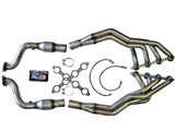 "American Racing Headers G8GT34WC 1-3/4""x3"" Long-Tube Headers W/ Catted Pipes 2008 2009 Pontiac G8 /"