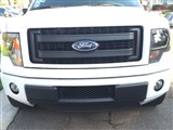 2009 2010 2011 2012 2013 2014 Ford F-150 Lower EcoBoost Grille Platinum Style Grille - Black /