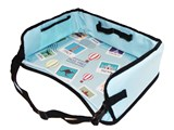 Portable Snack and Activity Lap Table Tray For Car Seat and Booster Seat /