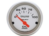 "Auto Meter 4327 Ultra-Lite Electronic 2-1/16"" Oil PSI Gauge /"