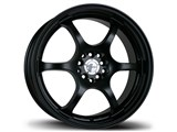 Avid-1 AV021770MC42BK AV-02 17x7 5x100 / 5x114.3 +42 Offset Wheel - Matte Black /