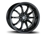 Avid-1 AV041775MC42BK AV-04 17x7.5 5x100 / 5x114.3 +42 Offset Wheel - Matte Black /