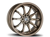 Avid-1 AV041775MC42BZ AV-04 17x7.5 5x100 / 5x114.3 +42 Offset Wheel - Matte Bronze /