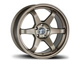 Avid-1 AV061775MC42BZ AV-06 17x7.5 5x100 / 5x114.3 +42 Offset Wheel - Matte Bronze /