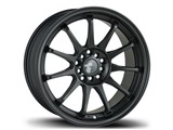 Avid-1 AV091780MC40BK AV-09 17x8 5x100 / 5x114.3 +40 Offset Wheel - Matte Black /