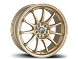 Avid-1 AV091780MC40GD AV-09 17x8 5x100 / 5x114.3 +40 Offset Wheel - Gold /