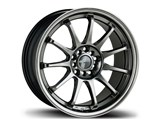 Avid-1 AV091780MC40HB AV-09 17x8 5x100 / 5x114.3 +40 Offset Wheel - Full Hyper Black /
