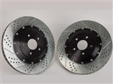 Baer 2301011 Eradispeed-PLUS-2 Front 2-Piece Big Rotors 2005-2012 Corvette /