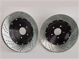 Baer 2302049 Eradispeed-PLUS-2 Rear 2-Piece Big Rotors 2005-2012 Corvette /