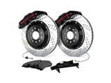 "Baer 4302062B Rear Extreme-Plus Corvette C5 Baer Claw 14"" 6-Pot Big Brake Kit With SDZ Rotors / Baer 4302062B Rear Extreme+ Big Brake Kit"