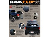 BAK 26205 BAKFlip G2 Tonneau Cover 1997-2015 DODGE Dakota Std/Ext 77.25-in Bed W/O Track System /