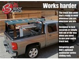 BAK 26303BT BAKFlip CS w- Rack 1999-2007 Ford Super Duty Standard Ext/Crew Cab 80.25-in Bed  /