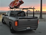 BAK 26409BT BAKFlip CS w- Rack 2007-2013 TOYOTA Tundra Crew Max 65-in Bed W/O Track System / BAK-26409BT BAKFlip CS Tonneau Cover With Rack