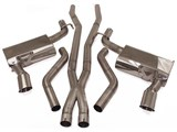 "B&B FDOM-0700 Billy Boat 2010 2011 2012 2013 Camaro V8 SS ""Classic"" Cat-Back Exhaust System /"