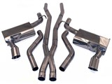"B&B FDOM-0800 Billy Boat 2010 2011 2012 2013 Camaro V6 ""Classic"" Cat-Back Exhaust System /"