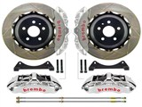 "Brembo 1M2.9025AR GT-R Front Brake Kit 6-Piston 15"" Slotted Rotors 2010 2011 2012 2013 Camaro SS /"