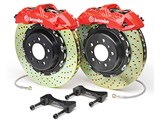 Brembo 1N1.9017A GT Front Brake Kit 6-Piston 15in X-Drilled Zinc Rotors 2010 2011 2012 2013 Camaro /