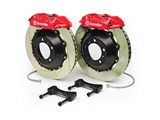 Brembo 2P1.9016A GT Rear Brake Kit 4-Piston 15in X-Drilled Zinc Rotors 2010 2011 2012 2013 Camaro /