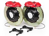 Brembo 2P2.8031A GT Rear Brake Kit 4-Piston 15-inch Sotted Zinc Rotors 2008 2009 Pontiac G8 /