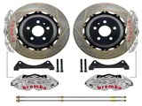 Brembo 2P2.9016AR GT-R Rear Brake Kit 4-Piston 15-inch Slotted Rotors 2010 2011 2012 2013 Camaro /