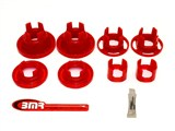 BMR Suspension BK016 Rear Cradle Insert Bushing Kit 2010 2011 2012 2013 Camaro - Street /