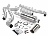 BANKS 48629 4-Inch Monster Exhaust System - Chevrolet/ GMC CCSB-XCSB LB7 Non-Cat Models! /