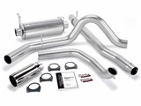 Banks 48656 1999-03 7.3L,W/O CAT CONV MONSTER EXHAUST SYSTEM /