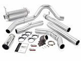 Banks 48660 2001-03 7.3L, W/CAT CONV MONSTER EXHAUST w/POWER ELBOW /