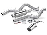 Banks 48939 2006-07 CHEVY 6.6L, CCSB MONSTER EXHAUST SYSTEM /