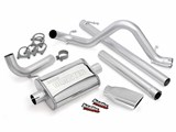 Banks 51321 07-08 JEEP 3.8L WRNGLR UNL-2DR MONSTER EXHAUST SYSTEM /