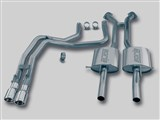 Borla 140077 Stainless Steel Single-Exit Cat-back Exhaust 2004 Pontiac LS1 GTO /