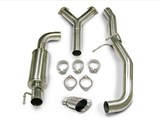 "Corsa 14129 Touring-Single Rear Exit w/Single Pro-Series 4.0"" Tip Chevrolet Cobalt 2.0SC /"