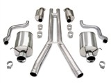 "Corsa 14161Corvette C6 Touring Catback Exhaust System - 4.0"" Pro-Series Tips /"