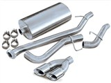 Corsa 14250 Avalanche 1500 5.3L 2002-06 Cat-back Exhaust /