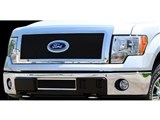 Carriage Works 39025 3-D Upper Mesh Grille, Black 2011-2012 Ford F-150 /