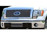 Carriage Works 39026 3-D Upper Mesh Grille, Polished 2011-2012 Ford F-150 /