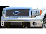 Carriage Works 39126 Mesh 1-Piece Lower Bumper Grille Insert 2009-2012 Ford F-150 /
