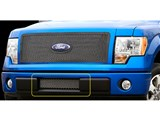 Carriage Works 39128 Mesh 1-Piece Lower Bumper Grille Insert 2009-2012 Ford F-150 /